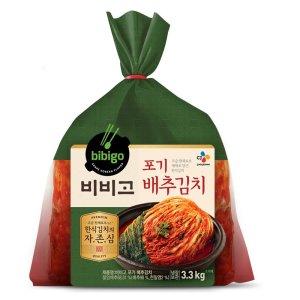 씨제이 비비고포기배추김치 3.3kg