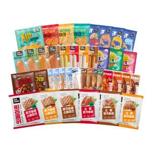 [맛있닭] 닭가슴살 10팩 50종 골라담기