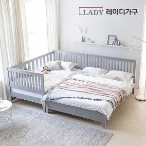 레이디가구 스칸딕 핀란드 원목 침대