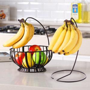 [토프] 인테리어 바나나걸이/겸용 과일바구니