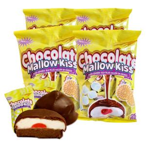 4봉(100개입) 초콜릿 멜로키스 초콜릿 간식 쿠키 과자