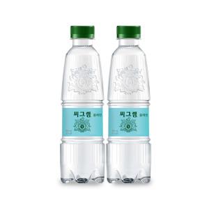 [씨그램] 씨그램 플레인 350ml x24pet/음료수/탄산수