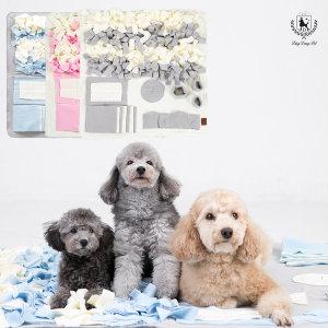 딩동펫 강아지 노즈워크 담요 중형/대형/특대형