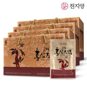 [천지양] 6년근 고려홍삼진액 30포 선물세트 3박스