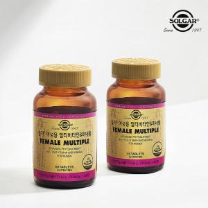 [솔가] 여성용 멀티비타민 미네랄 (60정) x 2병