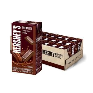 허쉬 초콜릿드링크 190ml 24팩 /쿠폰가 9,400원