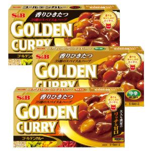일본내수용에스비골든카레/SB 카레/매운맛/중간매운맛