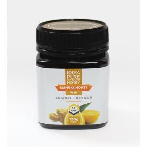 뉴질랜드 마누카꿀 UMF5 레몬 생강 250g 무료배송