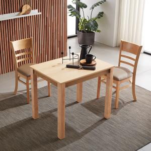 [동서가구] 아이 4인 원목식탁+의자4 DF639269