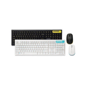 [한성컴퓨터] HKM660WL /무선/키보드/마우스세트 블랙