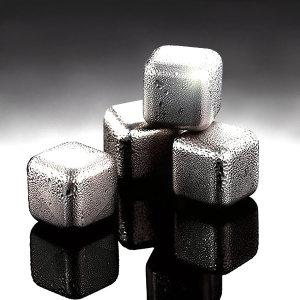 큐브의 비밀 스테인레스얼음 아이스큐브 녹지않는얼음