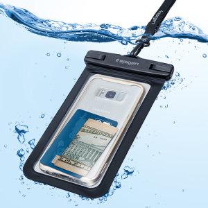 [슈피겐] 벨로 스마트폰 방수팩 A600 블랙 ZA000EM21018
