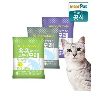 고양이모래 쇽쇽모래 4Lx6개 / 박스포장