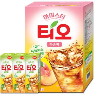 [티오] 티오 복숭아 아이스티 150T+티오 18T 증정