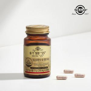 [솔가] 철분 25 (60캡슐/2개월)
