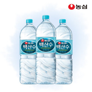 [백산수] 농심 백산수 2L x 12병 / 생수