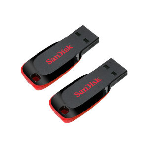 크루저 블레이드 USB2.0 32GB+32GB+C젠더