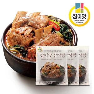 [참이맛] 참이맛 감자탕 800gx3 무료배송 외갓집(상온) 1팩증정