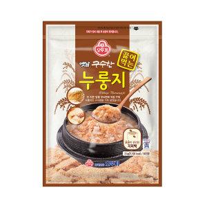 [오뚜기] 옛날 구수한 끓여먹는 누룽지 3kg