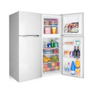 [창홍] 소형냉장고 138L 2도어 미니 원룸 일반냉장고 화이트