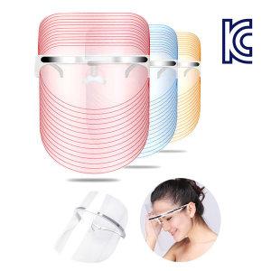 피부관리 누데이스 LED마스크 3컬러 홈케어 뷰티머신