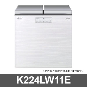 LG전자 디오스 김치톡톡 K224LW11E 219L BEST