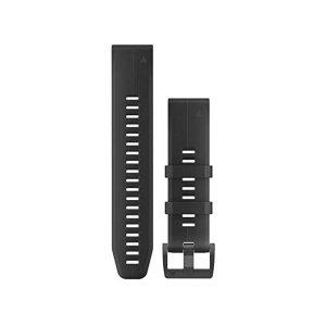 가민 피닉스 6 실리콘 스트랩 밴드 T40 Garmin  Quickfit 22 Watch Band - Black Silicone - A 010-12740-00