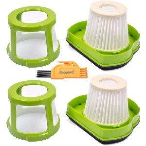 필터 KEEPOW Vacuum Filter Replacement for Bissell 1782 Pet Hair Eraser Hand Vac. Compare to Part  16