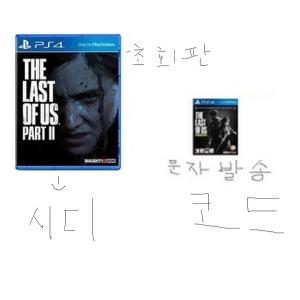 PS4 더 라스트 오브 어스 파트 1 2 합본 신품 내용유