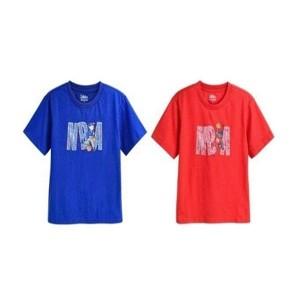 [NBA KIDS] NBA 캐릭터 앤 레터링 티셔츠