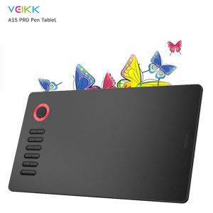 VEIKK A15PRO 그래픽 태블릿 안드로 iOS 윈도우 빨강