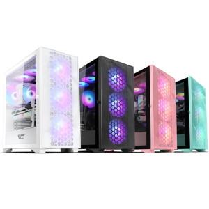 다크플래쉬 DarkFlash DLX21 RGB MESH 강화유리 블랙