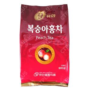 유안종합식품 자판기용 복숭아홍차 900g [1개]