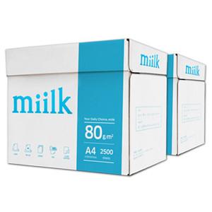 [밀크][수도권 대량 납품 전문] 한국제지 밀크 A4용지 80g 2박스(5000매)/a4/복사용지