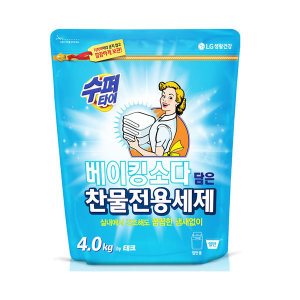 [홈플러스]LG생활건강 수퍼타이베이킹소다ZIP 4KG