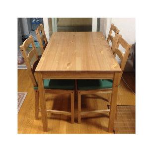 이케아 요크모크 4인 식탁세트 [의자4개]
