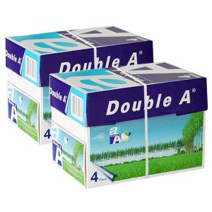 [더블에이]더블에이 A4 복사용지(A4용지) 80g 2000매 2BOX