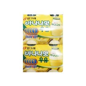 宾格瑞香蕉牛奶饮料240ml*8