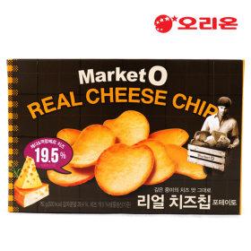 orion好丽友烤土豆奶酪薯片饼干60gX16