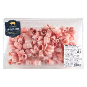 (전단상품)돼지돌돌말이삼겹살 900G 팩  냉동