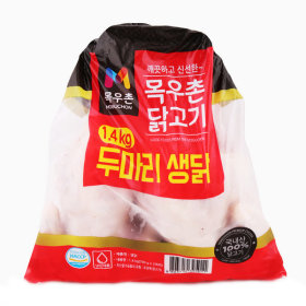 (전단상품)두마리생닭 1.4KG 700Gx2