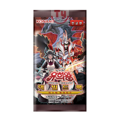 """Mystic Fighters/"""" Booster Box Korean Ver Yugioh Cards /""""Deck Build Pack"""